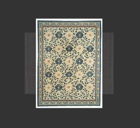 Traditional Chinese rugs and carpets are immediately recognizable by their simple, classic motifs and unusual colors. These rugs often feature a center, circular medallion, familiar objects sen in nature scubas animals, flowers, and clouds, stylized Chinese ideagraphs, and even entire scenes. They're usually framed with a simple, wide boarder. Chinese rugs are woven with a 5-ply yarn, in contrast with the 2-ply yarns used in Persian rugs and carpets. Many Chinese rugs and carpets are sculpted where contrasting colors meet to provide interest and texture to the simple patterns. These rugs are usually of high quality and extremely durable. Unlike most oriental rugs, the motifs on Chinese rugs do not unite in order to create one design, they stand alone. Also, unlike most oriental rugs, Chinese designs are very literal rather than decorative, most motifs have very exact meanings. The medallion layout tends to be very common. The medallion round with a leaf-like dragon, stylized flowers or geometric fret designs.